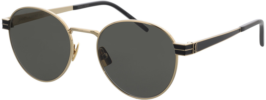 Picture of glasses model Saint Laurent SL M62-003 52-19 in angle 330