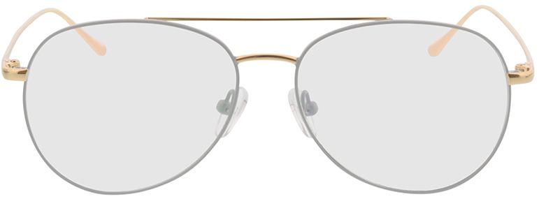 Picture of glasses model Manacor-grau/gold in angle 0
