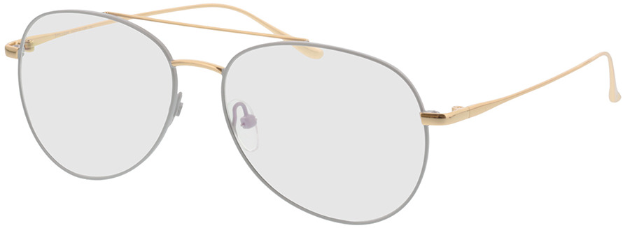Picture of glasses model Manacor-grau/gold in angle 330