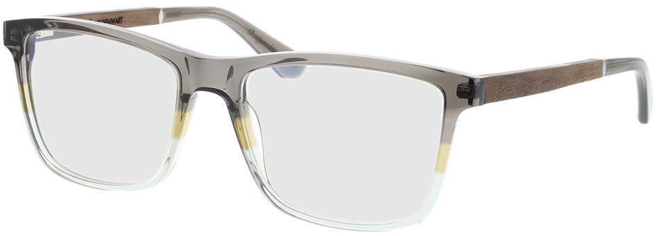 Picture of glasses model Wood Fellas Optical Wildenwart curled/fade brw 56-18 in angle 330