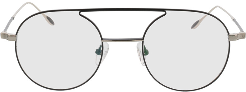 Picture of glasses model Harlem-schwarz/silber in angle 0