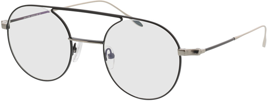 Picture of glasses model Harlem-schwarz/silber in angle 330