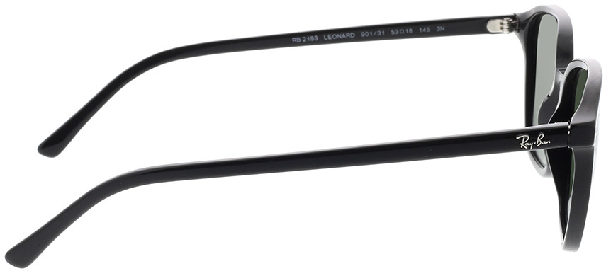 Picture of glasses model Ray-Ban Leonard RB2193 901/31 53-18 in angle 90