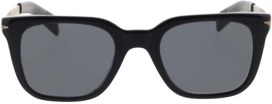 Picture of glasses model David Beckham DB 7047/S 2M2 51-22 in angle 0