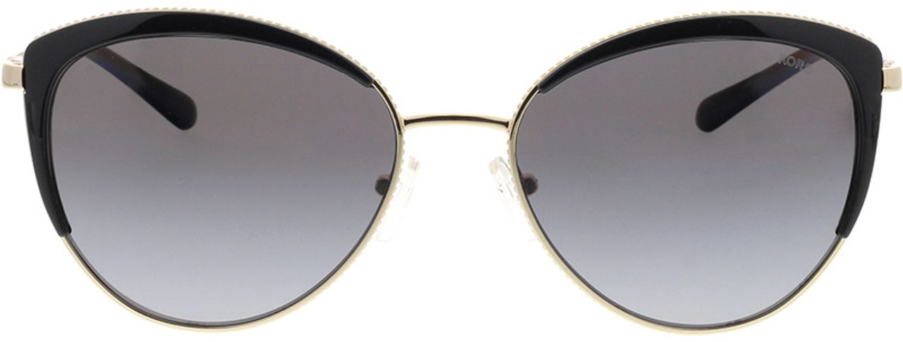 Picture of glasses model Michael Kors Key Biscayne MK1046 1855T3 56-17 in angle 0