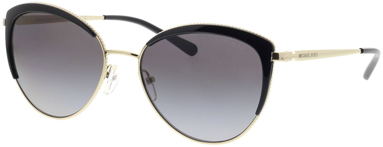 Picture of glasses model Michael Kors Key Biscayne MK1046 1855T3 56-17 in angle 330