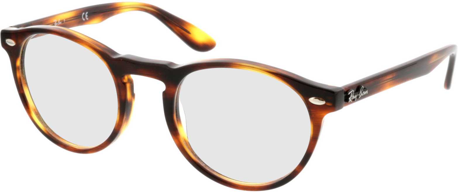 Picture of glasses model Ray-Ban RX5283 2144 49-21 in angle 330