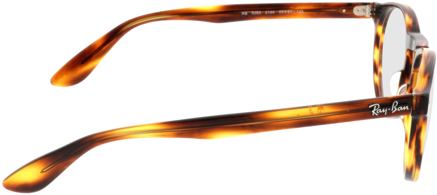Picture of glasses model Ray-Ban RX5283 2144 49-21 in angle 90