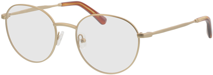 Picture of glasses model Vanda-matt gold in angle 330
