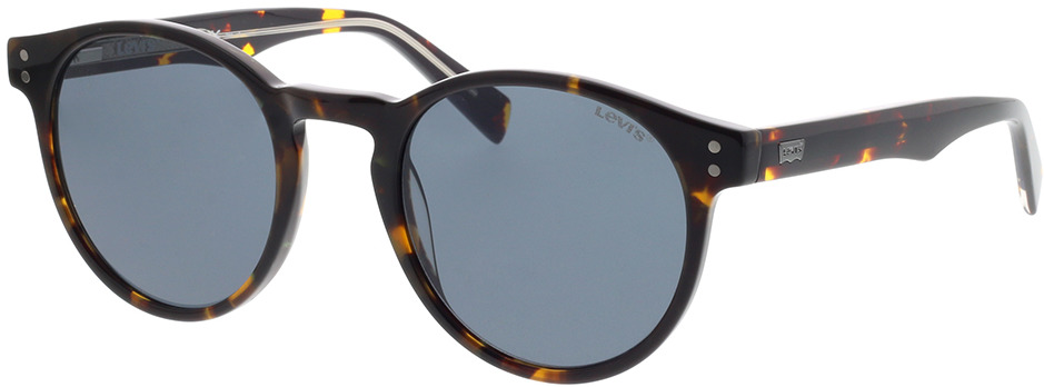 Picture of glasses model Levi's LV 5005/S 086 50-22 in angle 330