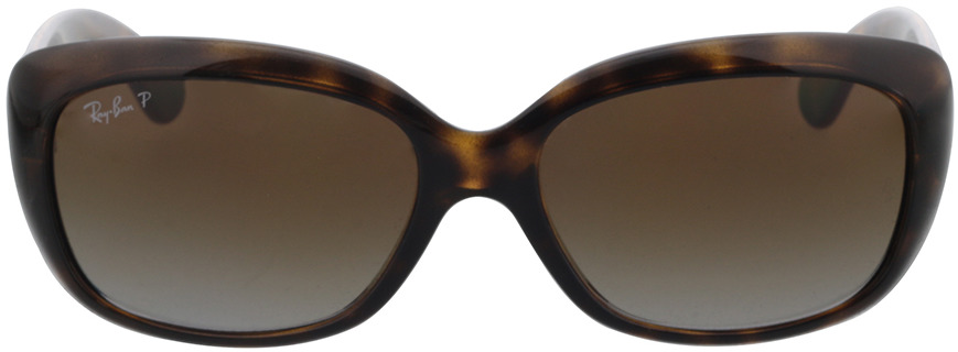 Picture of glasses model Ray-Ban Jackie Ohh RB4101 710/T5 58-17 in angle 0