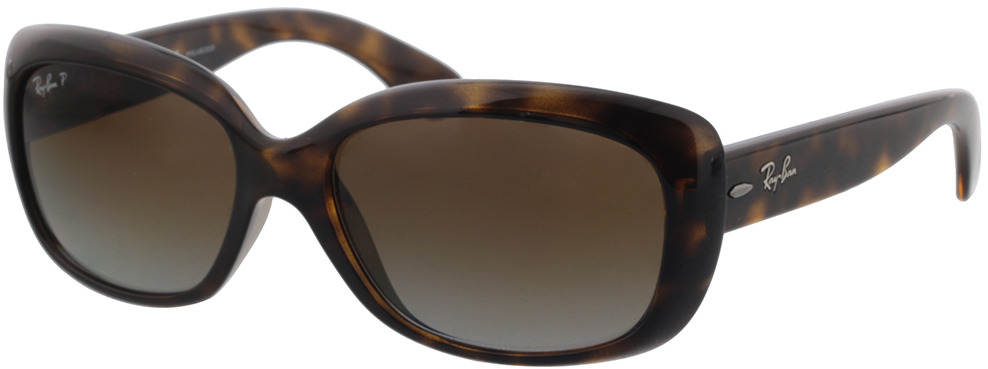 Picture of glasses model Ray-Ban Jackie Ohh RB4101 710/T5 58-17 in angle 330