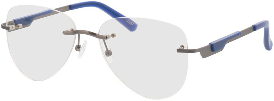 Picture of glasses model Tangari-matt anthrazit/blau in angle 330
