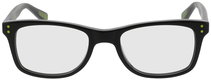 Picture of glasses model Nike NIKE 5538 010 46-17 in angle 0