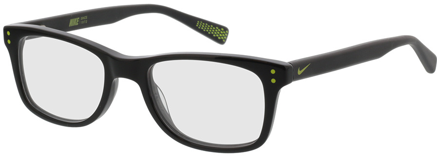 Picture of glasses model Nike NIKE 5538 010 46-17 in angle 330