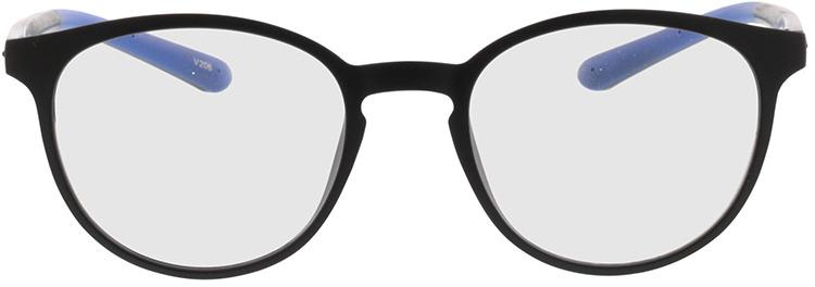 Picture of glasses model Lato-matt schwarz in angle 0