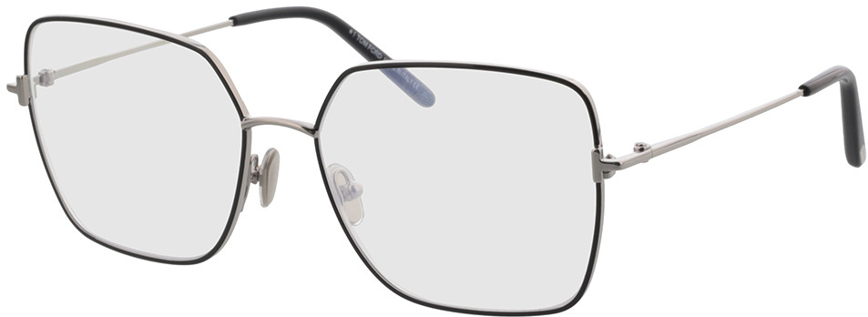 Picture of glasses model Tom Ford FT5739-B 001 57 in angle 330