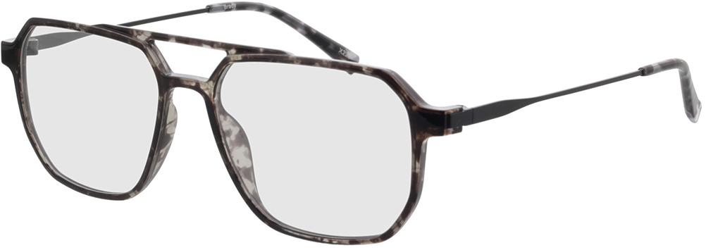 Picture of glasses model Brady-grau-meliert/matt schwarz in angle 330