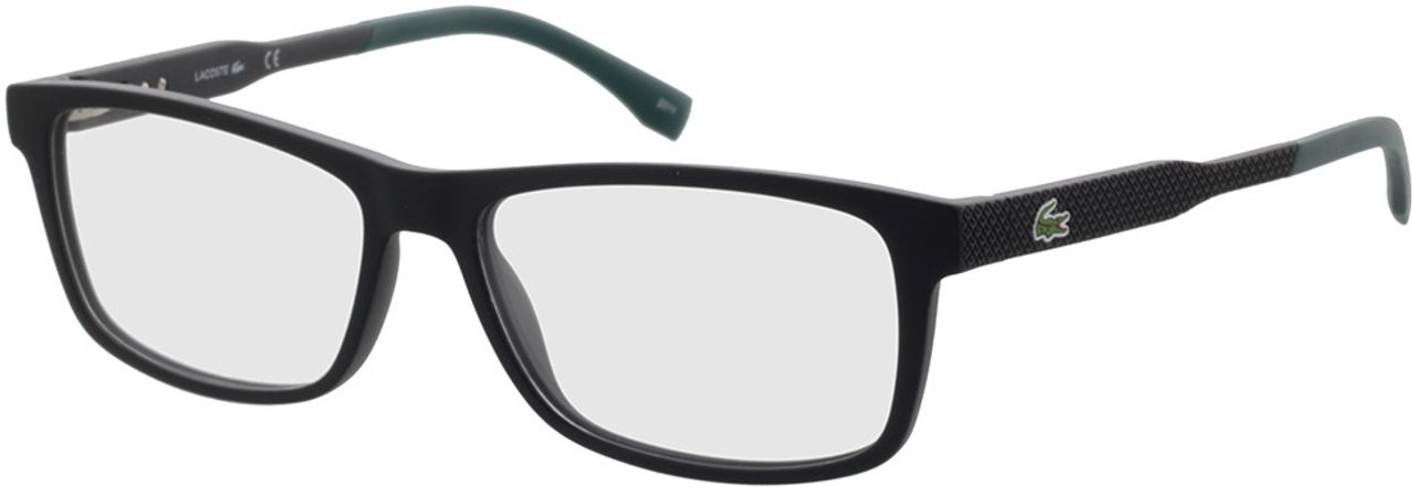 Picture of glasses model Lacoste L2876 001 55-15 in angle 330