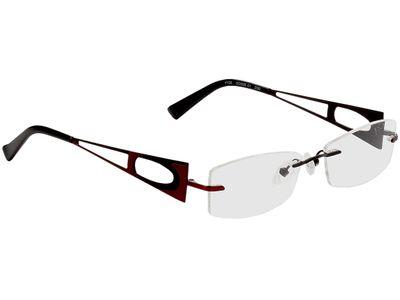 Brille Sotschi-schwarz/rot