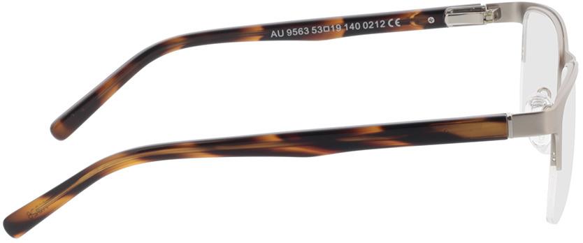 Picture of glasses model Alamo-matt silber/braun-meliert in angle 90