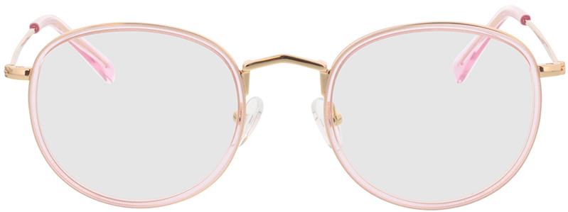 Picture of glasses model Gilbritt rose/Goud in angle 0
