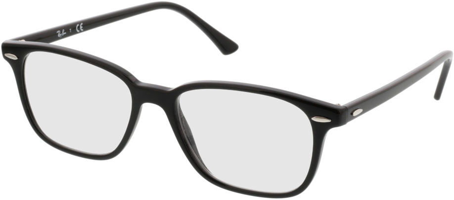 Picture of glasses model Ray-Ban RX7119 2000 53-17 in angle 330