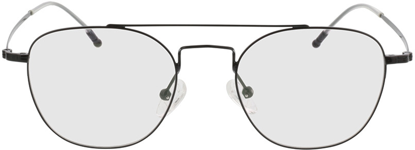 Picture of glasses model Downey-noir in angle 0