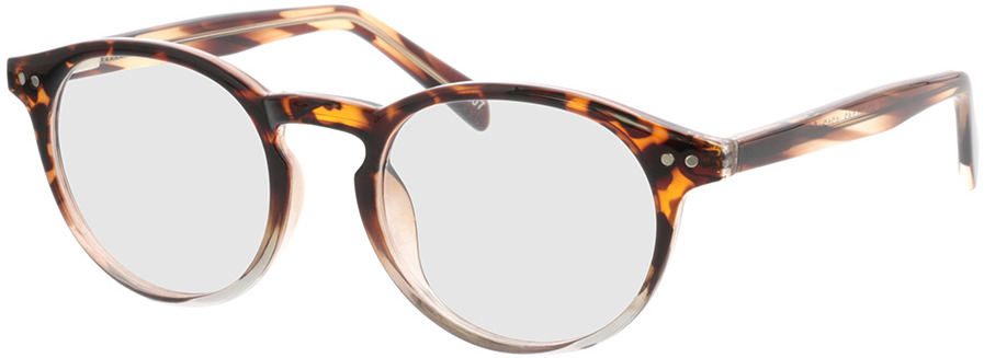 Picture of glasses model Delion-braun-meliert/transparent in angle 330