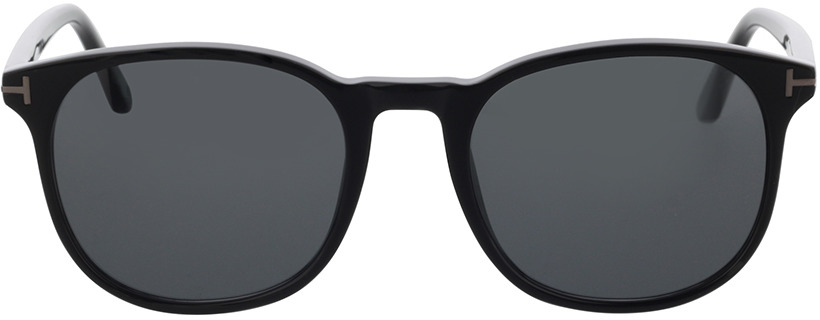 Picture of glasses model Tom Ford FT0858-N 01A 53 in angle 0