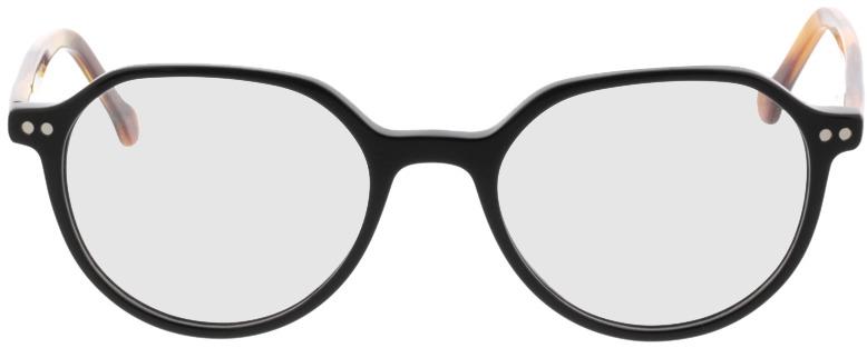 Picture of glasses model Sorrento-schwarz/braun in angle 0