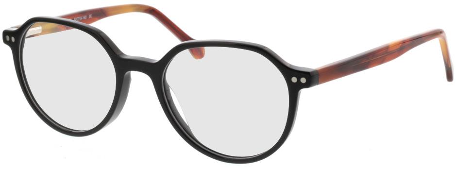 Picture of glasses model Sorrento-schwarz/braun in angle 330