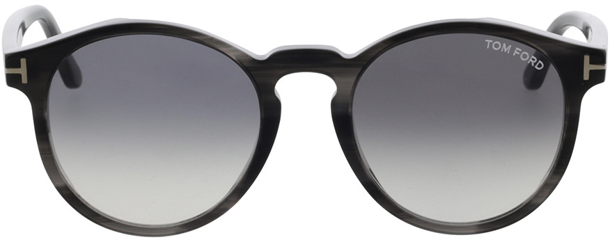 Picture of glasses model Tom Ford FT0591 20B in angle 0