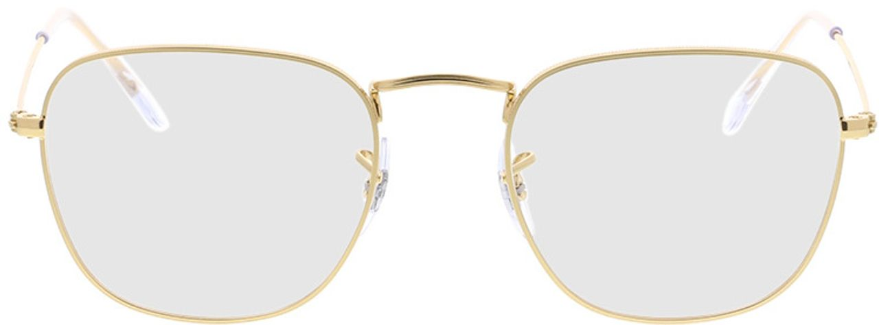 Picture of glasses model Ray-Ban RX3857V 3086 51-20 in angle 0