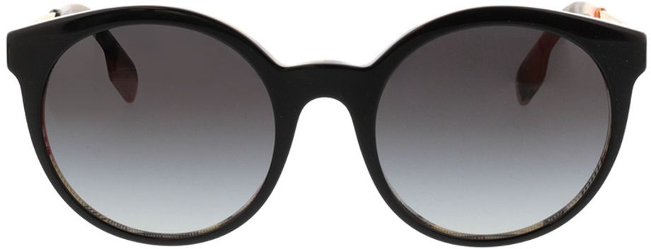 Picture of glasses model Burberry BE4296 38068G 53-20 in angle 0