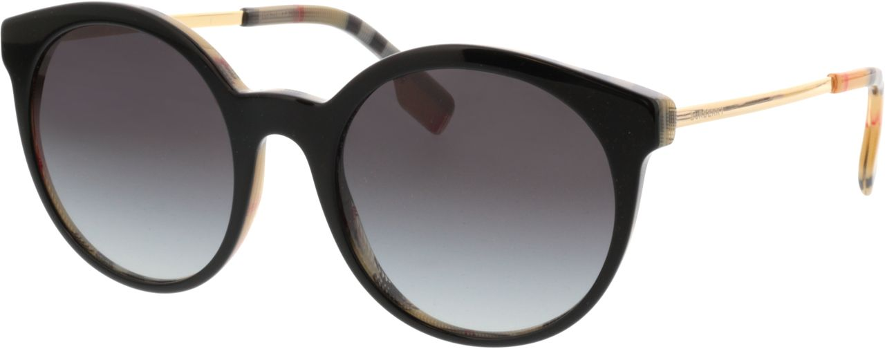 Picture of glasses model Burberry BE4296 38068G 53-20 in angle 330