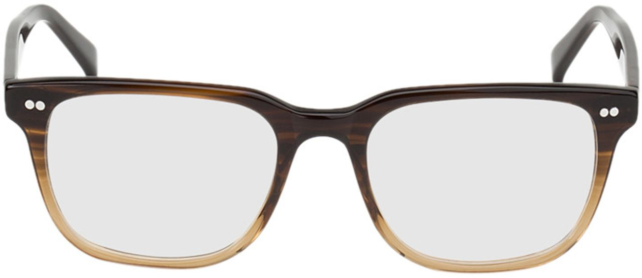 Picture of glasses model Johannesburg-brown-mottled in angle 0
