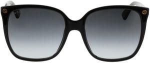 Picture of glasses model Gucci GG0022S 001 57-18