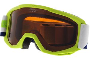 Alpina Skibrille PINEY SH Lime SINGLELFLEX hicon