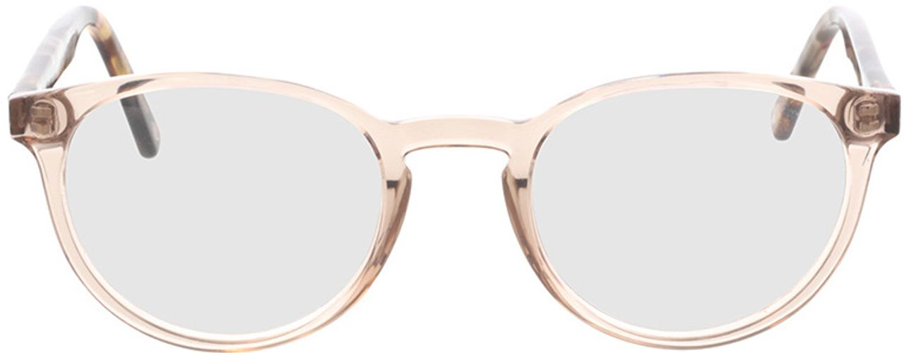Picture of glasses model Maya-transparent beige  in angle 0