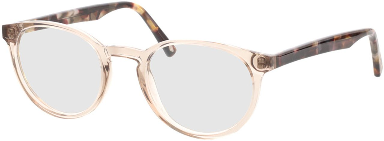 Picture of glasses model Maya-transparent beige  in angle 330