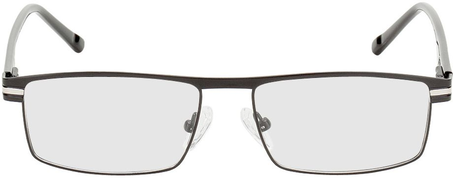 Picture of glasses model Salerno black/silver in angle 0