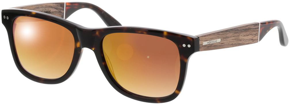 Picture of glasses model Wood Fellas Sunglasses Schellenberg walnut/havana 53-18 in angle 330