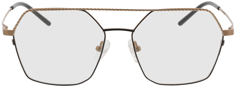 Picture of glasses model Kelso Goud/zwart in angle 0