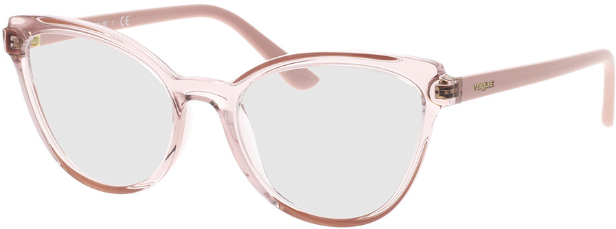 Picture of glasses model Vogue VO5291 2763 53-18 in angle 330