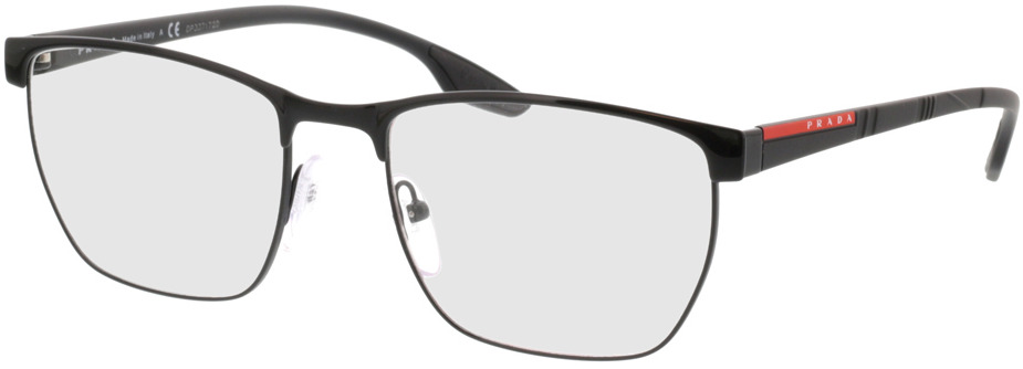 Picture of glasses model Prada Linea Rossa PS 50LV 1AB1O1 55-19 in angle 330