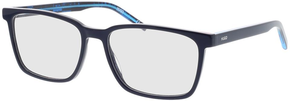 Picture of glasses model Hugo HG 1074 S6F 56-17 in angle 330