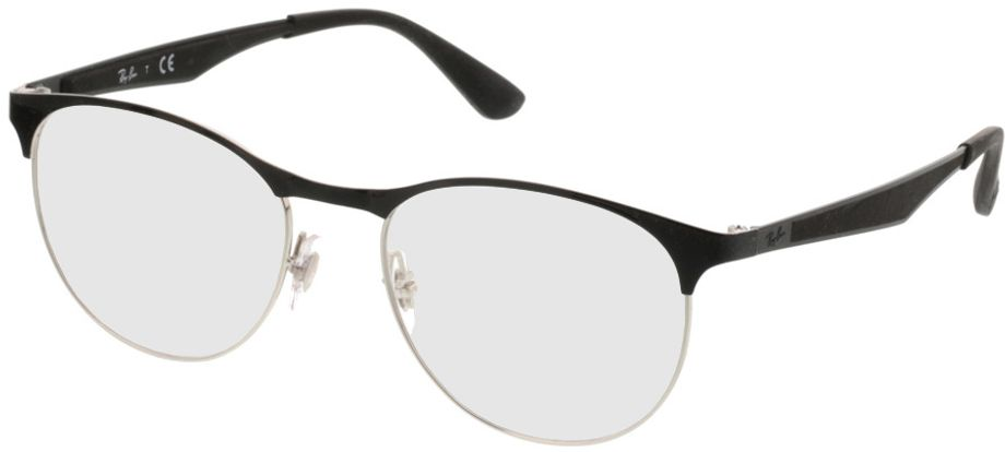 Picture of glasses model Ray-Ban RX6365 2861 51-17 in angle 330