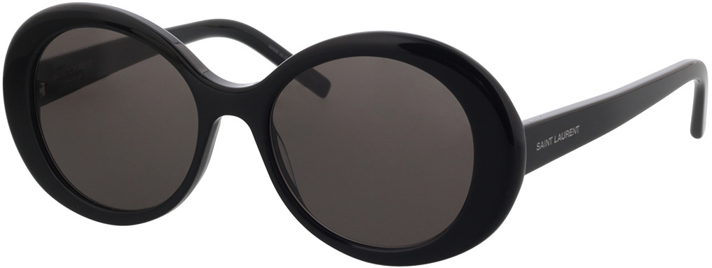 Picture of glasses model Saint Laurent SL 419-001 56-18 in angle 330