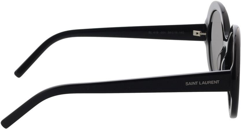 Picture of glasses model Saint Laurent SL 419-001 56-18 in angle 90